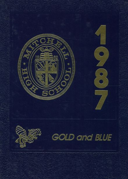 1987 Mitchell High School Yearbook Cover