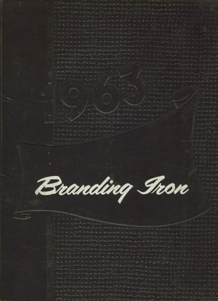 1963 Mason High School Yearbook Cover