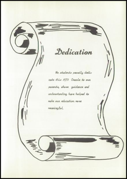 1970 Hartley School Yearbook Page 7