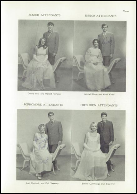 1970 Hartley School Yearbook Page 9