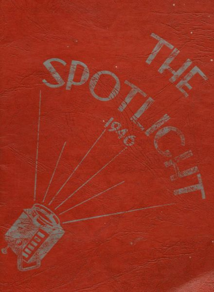 1946 Central High School Yearbook Cover