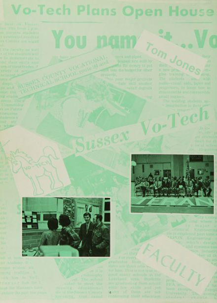 1974 Sussex County Vo-Tech High School Yearbook Page 8