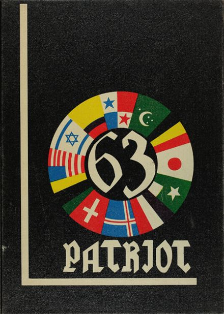 1963 Hale High School Yearbook Cover