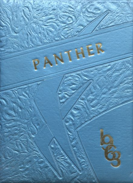 1963 Jal High School Yearbook Cover