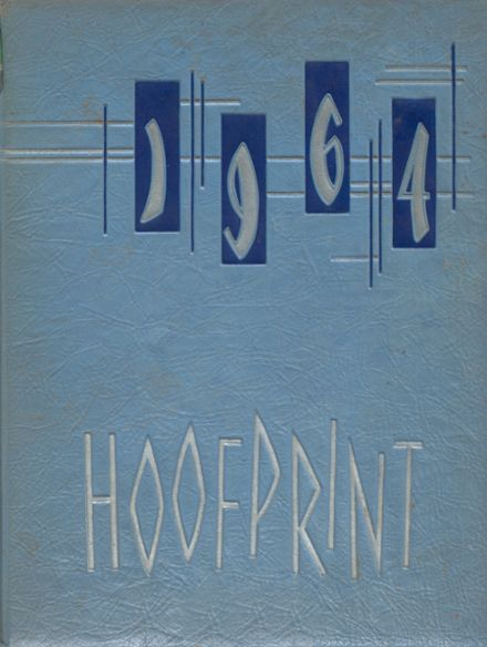 1964 San Dieguito High School Yearbook Cover