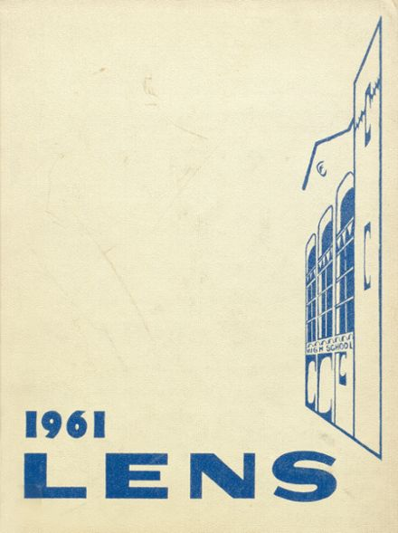 1961 Maine East High School Yearbook Cover
