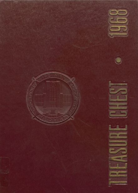 1968 Mepham High School Yearbook Cover