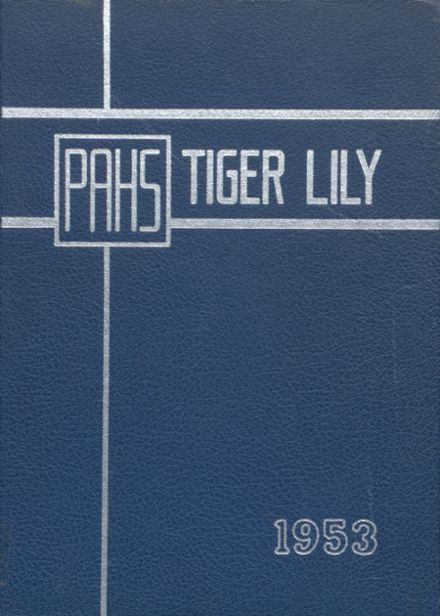 1953 Port Allegany High School Yearbook Cover