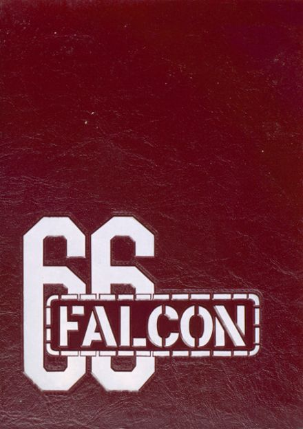 1966 Tyrone High School Yearbook Cover