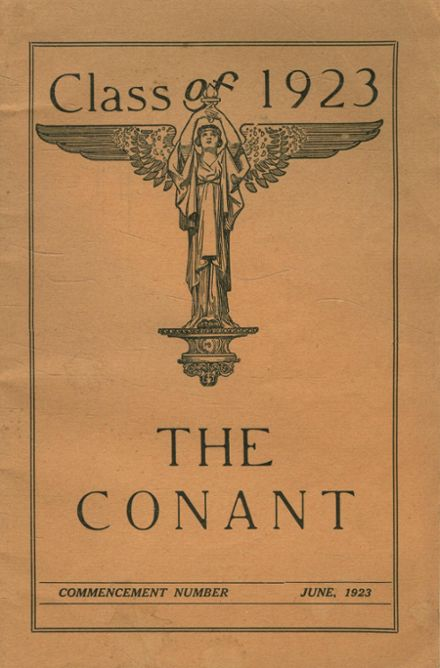 1923 Conant High School Yearbook Cover