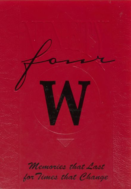 1994 Waynesburg Central High School Yearbook Cover