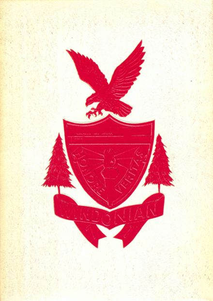 1971 Windham High School Yearbook Cover