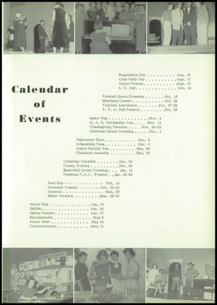 1956 Dale High School Yearbook Page 7