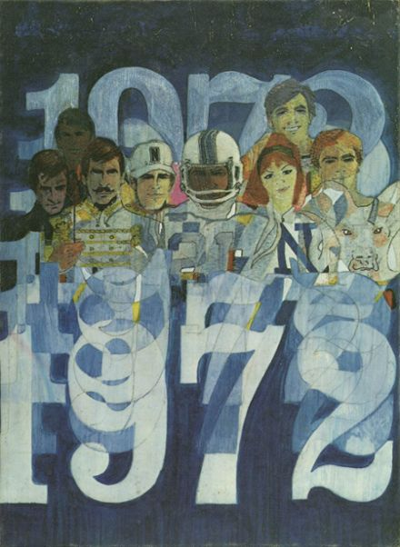 1972 Newton County High School Yearbook Cover