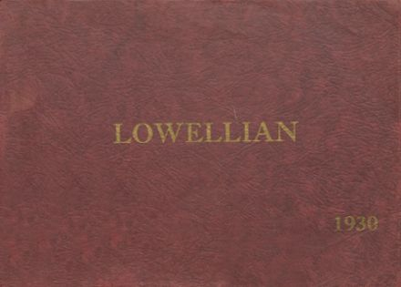 1930 Lowell High School Yearbook Cover