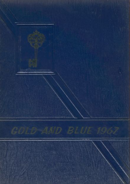 1967 Newkirk High School Yearbook Cover