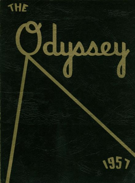 1957 Parkville High School Yearbook Cover