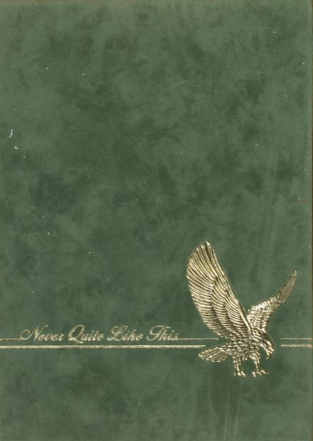 1984 Braxton County High School Yearbook Cover