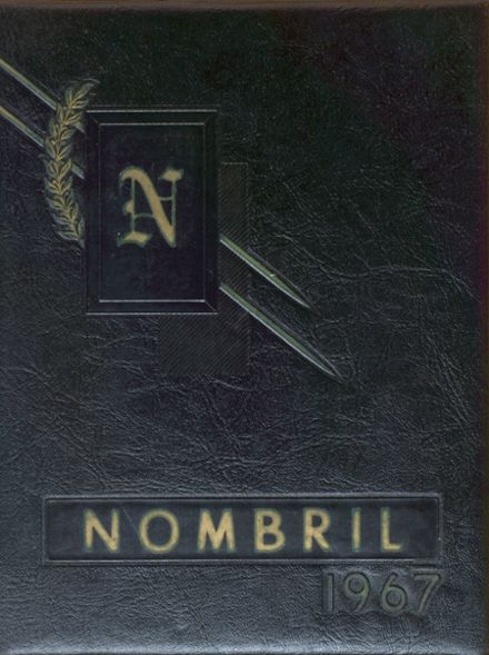 1967 Nelson High School Yearbook Cover