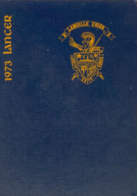 1973 Lamoille Union High School Yearbook Cover