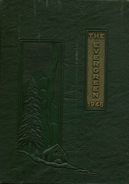 1948 The Abbey School Yearbook Cover