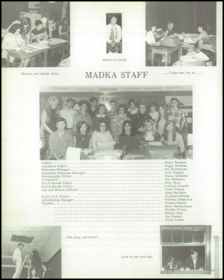 1970 Madison Central School Yearbook Page 6