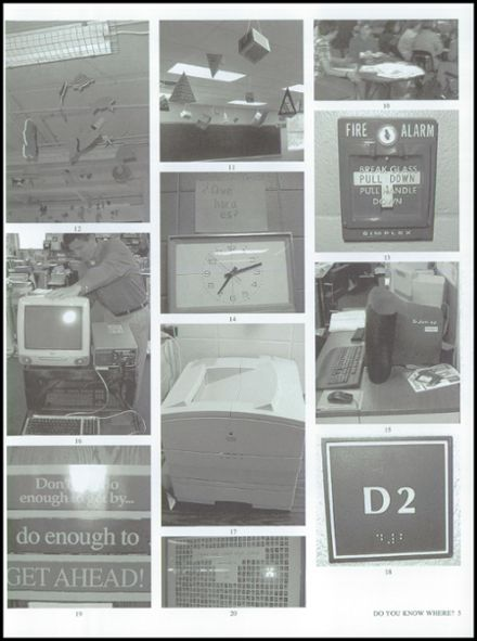 2000 Crystal Lake South High School Yearbook Page 9