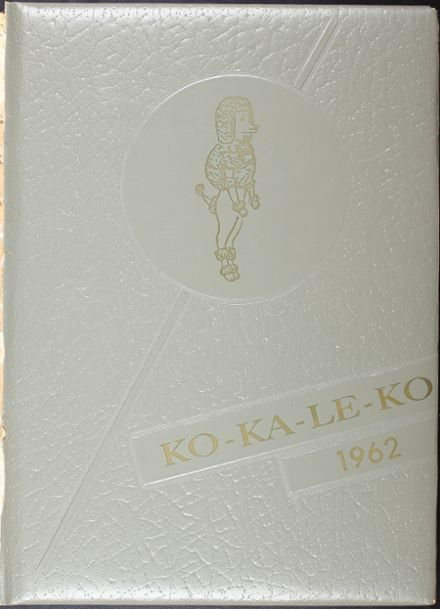1962 Cocalico High School Yearbook Cover