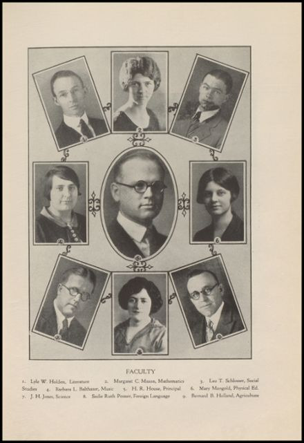 1928 Port Allegany High School Yearbook Page 7