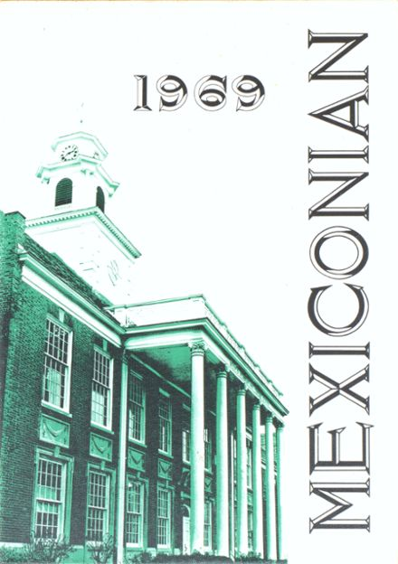 1969 Mexico Academy & Central High School Yearbook Cover