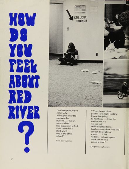1970 Red River High School Yearbook Page 6