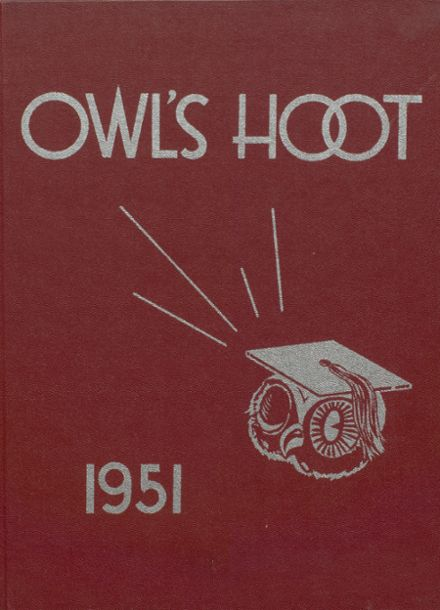 1951 Hancock High School Yearbook Page 1