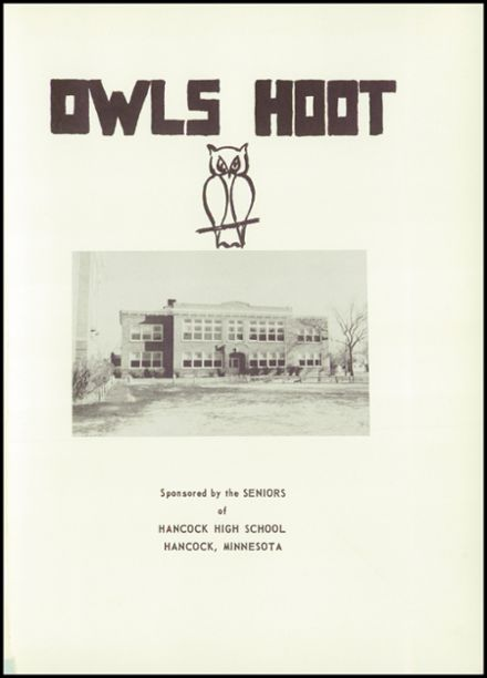 1951 Hancock High School Yearbook Page 5