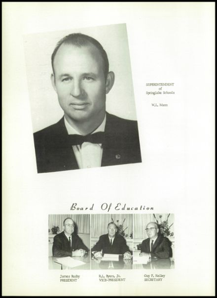 1965 Springlake-Earth High School Yearbook Page 8