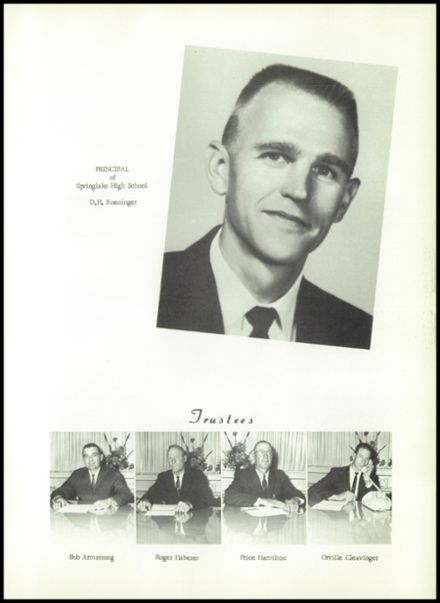 1965 Springlake-Earth High School Yearbook Page 9
