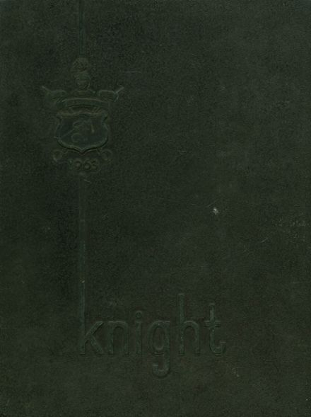 1963 Florida Military High School Yearbook Cover