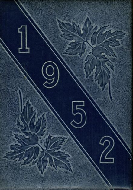 1952 Maplewood-Richmond Heights High School Yearbook Cover