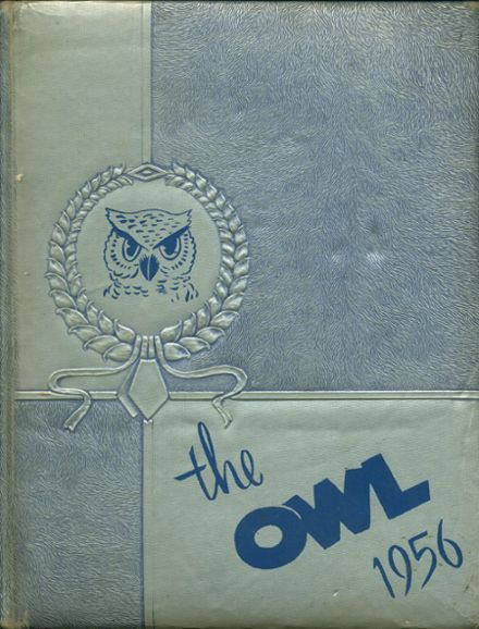 1956 Westminster High School Yearbook Cover