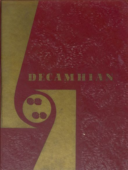 1969 Del Campo High School Yearbook Cover