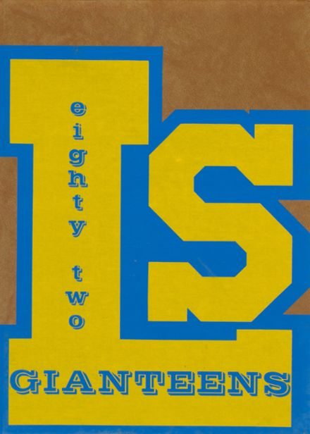 1982 Le Sueur High School Yearbook Cover