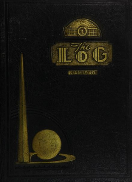 1940 James Madison High School Yearbook Cover