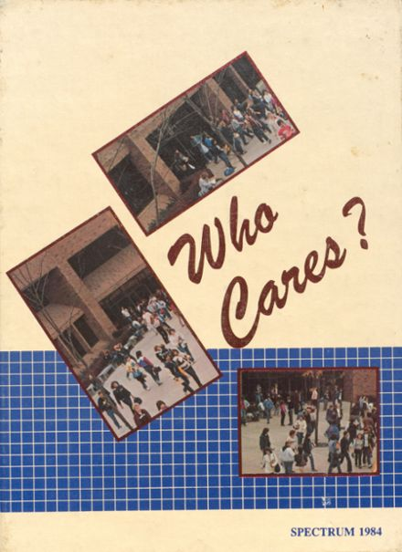 1984 Shaler Area High School Yearbook Cover
