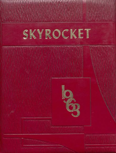 1963 Wellington High School Yearbook Cover