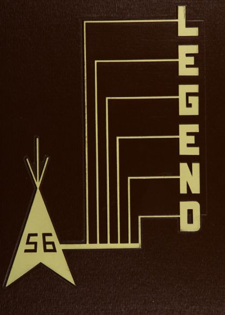 1956 North Side High School Yearbook Cover