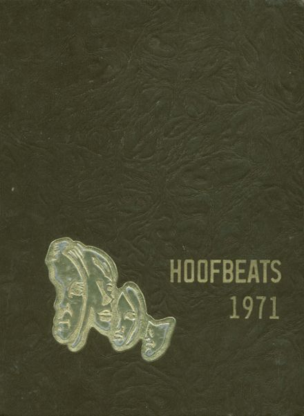 1971 North High School Yearbook Cover