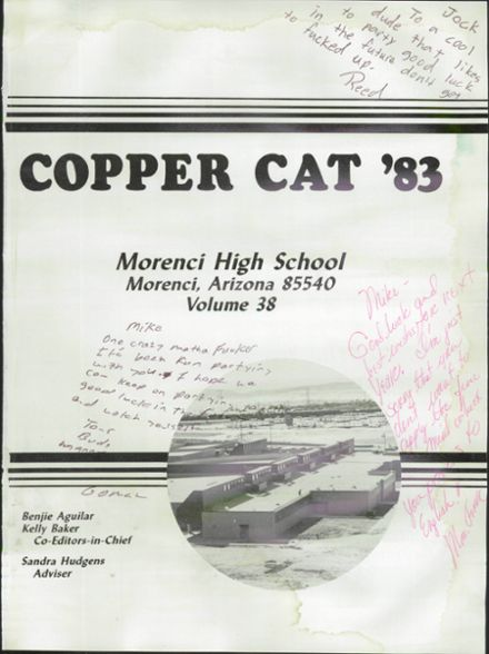 1983 Morenci High School Yearbook Page 5