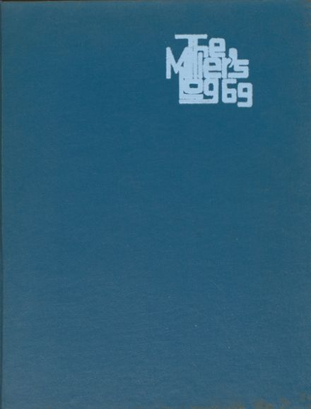 1969 Springfield High School Yearbook Cover