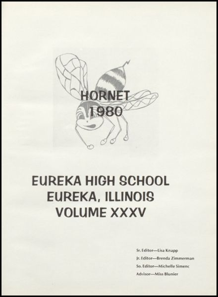 1980 Eureka High School Yearbook Page 5