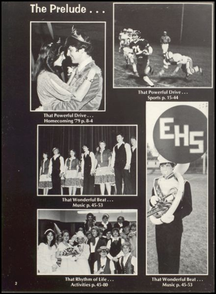 1980 Eureka High School Yearbook Page 6