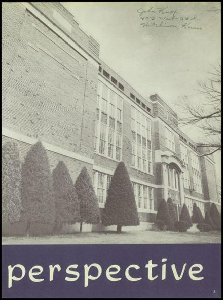 1954 Hutchinson High School Yearbook Page 9